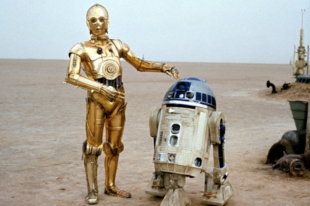 C-3PO and R2-D2 in 'A New Hope' (Photo: Lucasfilm)