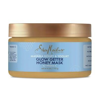 <p>After using the <span>SheaMoisture Manuka Honey &amp; Yogurt Glow Getter Honey Mask</span> ($10), you'll have a glowing, hydrated face.</p>