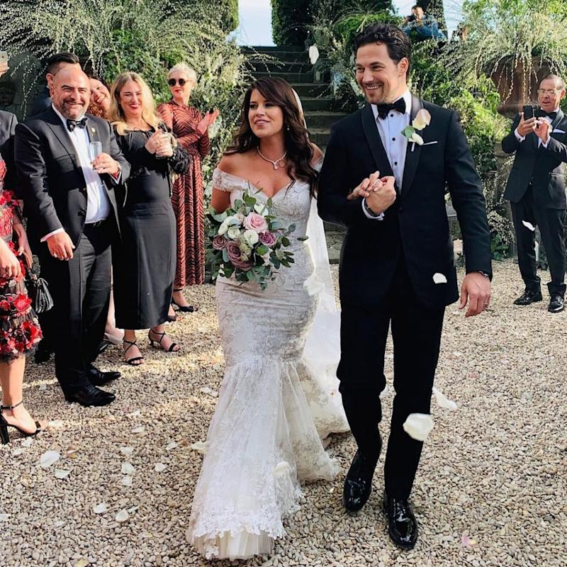Giacomo Gianniotti and wife Nichole G. | Giacomo Gianniotti/Instagram