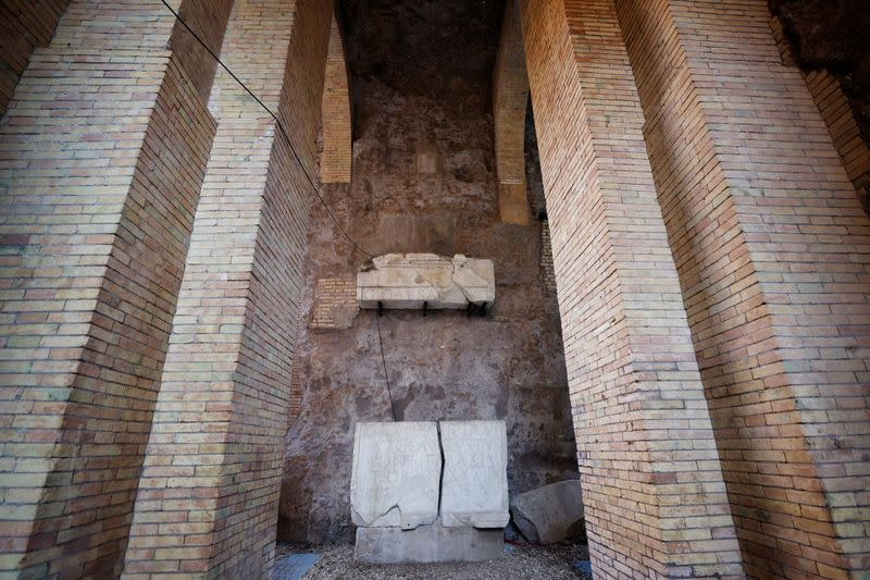Mausoleum of Rome's first emperor Augustus set to reopen to public