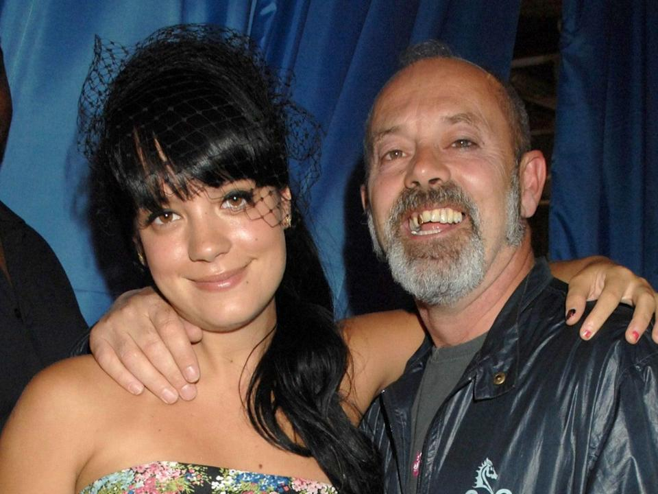 Lily and Keith Allen in 2007 (Richard Young/Shutterstock)