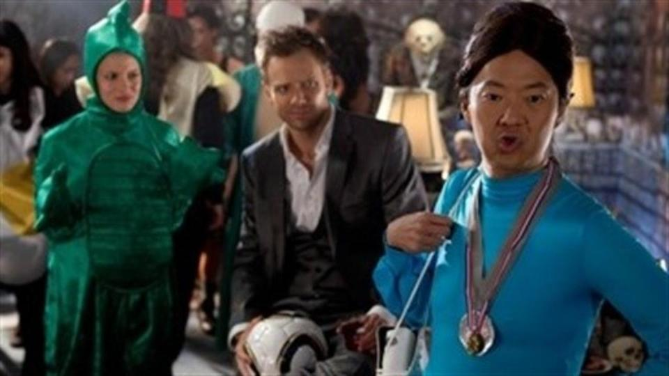 "<p> Best known for its meta humour and fourth-wall breaking tendencies, the Dan Harmon-created series has dived into Halloween on a couple of occasions, with the second season episode ""Epidemiology"" proving the standout. </p> <p> Greendale is overcome by zombie-like students after their drinks are spiked – and it's left to Troy, in the words of the show, to become the first black person to survive 'til the end. What follows is a love letter to zombie flicks, Halloween, and all-round horror, Community-style. </p>"
