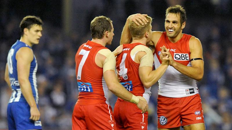 Kennedy stars in Swans' AFL win over North