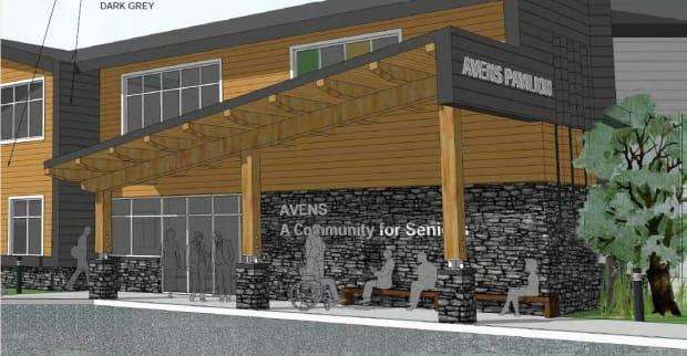 A visualization of the proposed AVENS pavilion  (AVENS/City of Yellowknife - image credit)