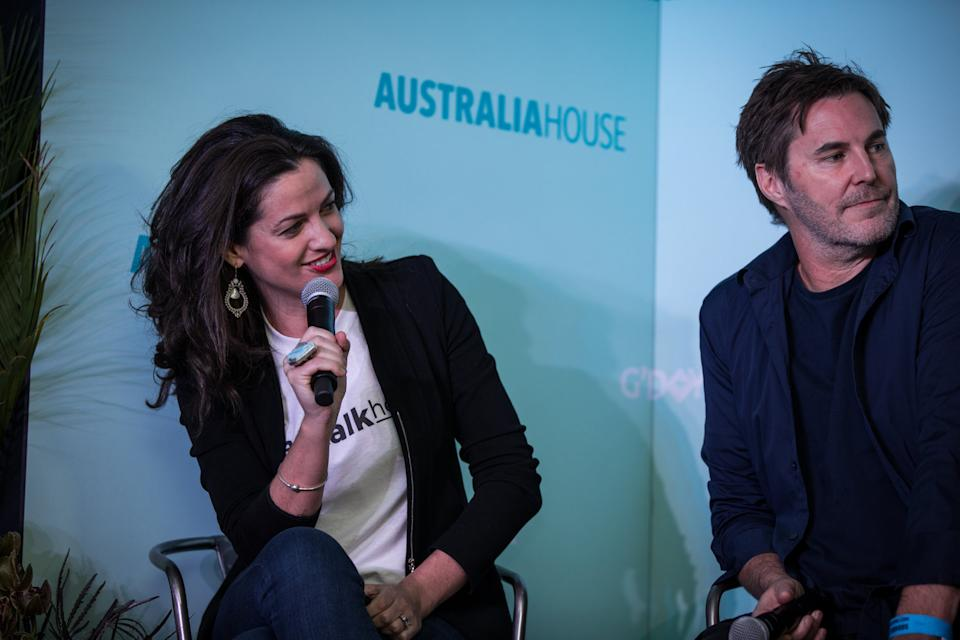 Image of corporate coach, pay rise expert and PepTalkHer founder Meggie Palmer at Australia House