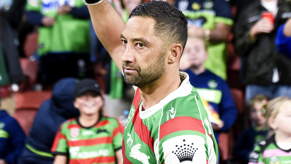 NRL great Benji Marshall has announced he is retiring from the NRL, after 346 games for four different clubs. (Photo by Albert Perez/Getty Images)