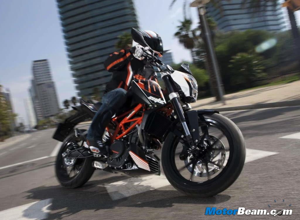 KTM will launch the 390 Duke in India by mid-2013. This motorcycle will be powered by a 373cc engine producing 44 PS of power and 35 Nm of torque.