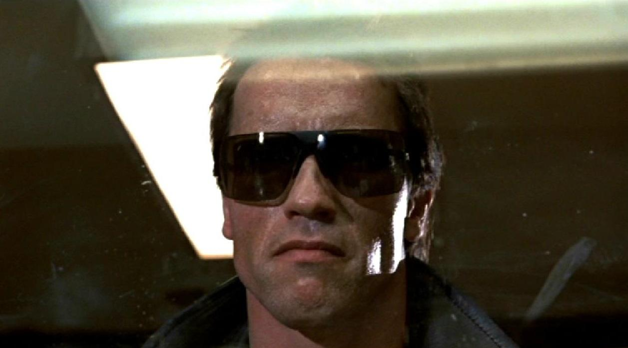 """<p>Altogether now: """"I'll be back."""" It seems such a throwaway line within the context of the film, yet it became Schwarzenegger's catchphrase, repeated in many of his movies, including but not limited to the 'Terminator' sequels – and doubtless it will be in the mix if/when James Cameron's planned reboot trilogy gets off the ground. (Picture credit: MGM-UA) </p>"""