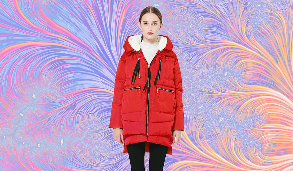 Amazon shoppers are in love with this coat. (Photo: Amazon)