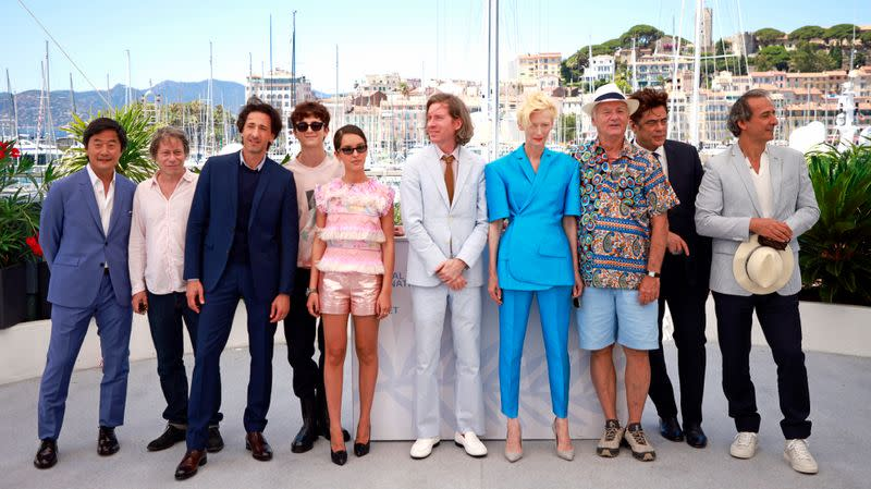 """The 74th Cannes Film Festival - Photocall for the film """"The French Dispatch"""" in competition"""
