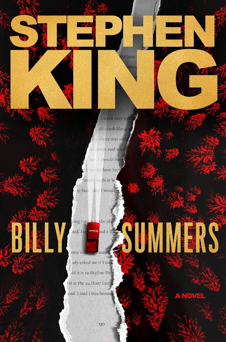 """""""Billy Summers,"""" by Stephen King."""