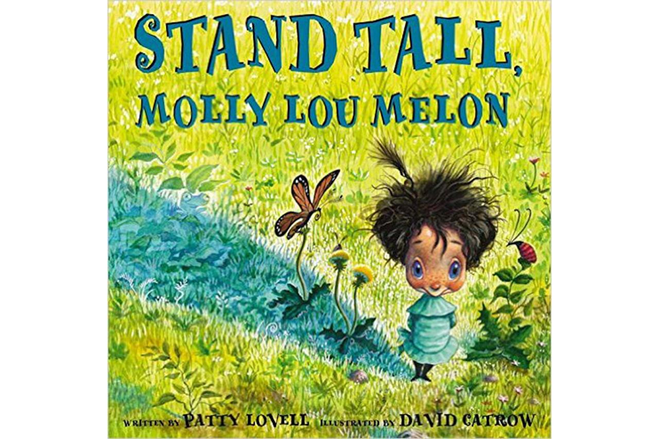 "Molly Lou Melon is different, but that has never mattered before. In <em><a rel=""nofollow"" href=""https://www.amazon.com/Stand-Tall-Molly-Lou-Melon/dp/0399234160/ref=sr_1_1?s=books&ie=UTF8&qid=1345935444&sr=1-1&keywords=stand%20tall%20molly%20lou%20melon&tag=viglink127330-20"">Stand Tall, Molly Lou Melon</a>,</em> a bully picks on Molly the very first day of school because of the things that make her different. Instead of taking the taunting, Molly knows how to stand up for herself. Written for preschoolers and up, this book is a great way to open up a conversation about how to handle bullying if your kids are being teased or witness bullying at school. Check out more tips for <a rel=""nofollow"" href=""http://www.rd.com/advice/parenting/emotionally-intelligent-child/1"">raising an emotionally intelligent child</a>."