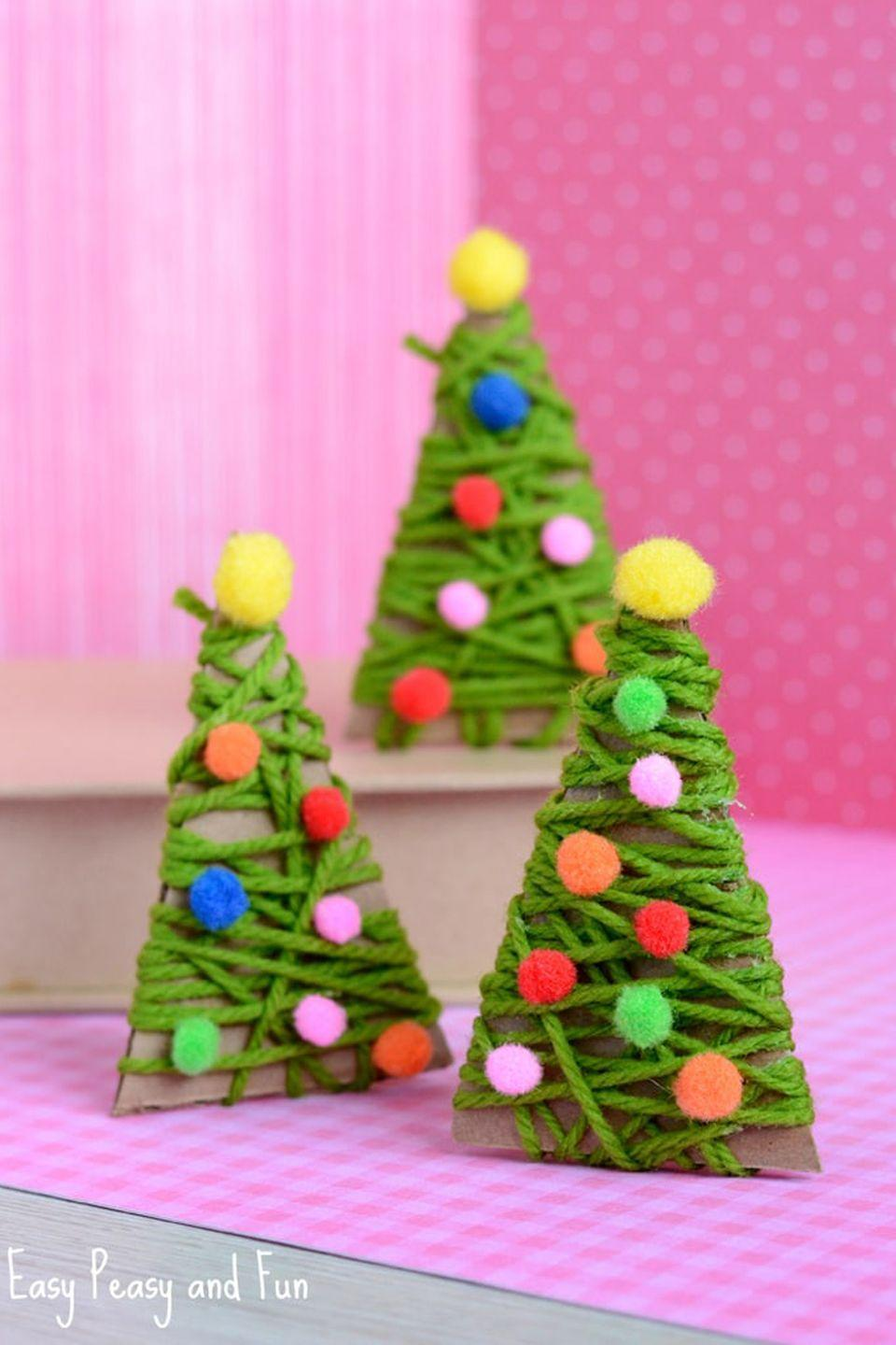 "<p><span class=""redactor-invisible-space"">If only decorating a real Christmas tree was <em>this</em> easy!</span></p><p><strong>Get the tutorial at <a href=""https://www.easypeasyandfun.com/yarn-wrapped-christmas-tree-ornaments/"" rel=""nofollow noopener"" target=""_blank"" data-ylk=""slk:Easy Peasy and Fun"" class=""link rapid-noclick-resp"">Easy Peasy and Fun</a>.</strong></p>"