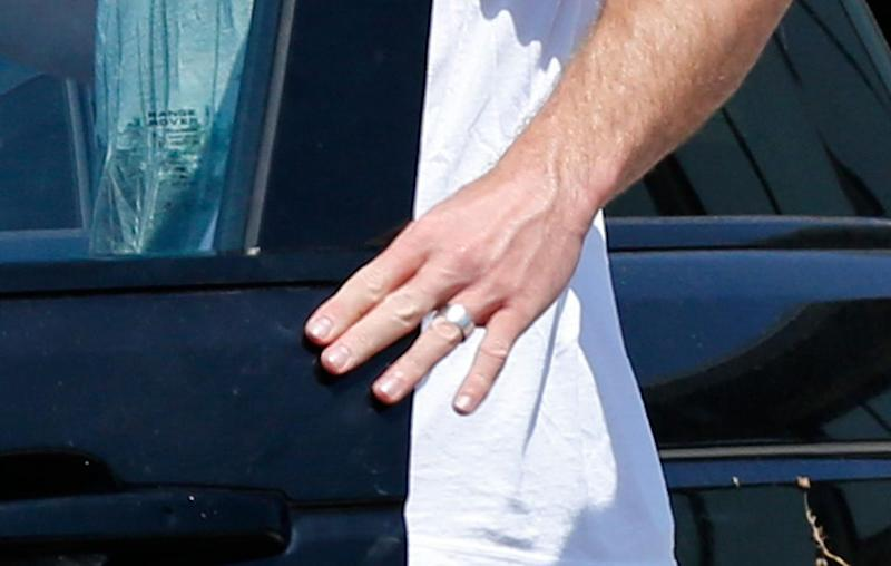 Does this mean he and Miley Cyrus are married? Source: Mega