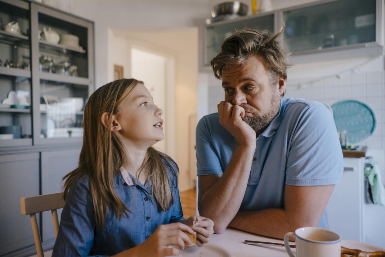 There was no difference between men and women in terms of parent regret. (Getty Images)
