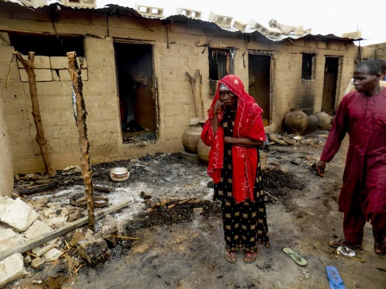 "Nigerians who fled into Cameroon to escape Boko Haram jihadists have been returning amid government claims the extremists are ""technically defeated"" -- but continuing attacks have stretched camps for those made homeless to breaking point"