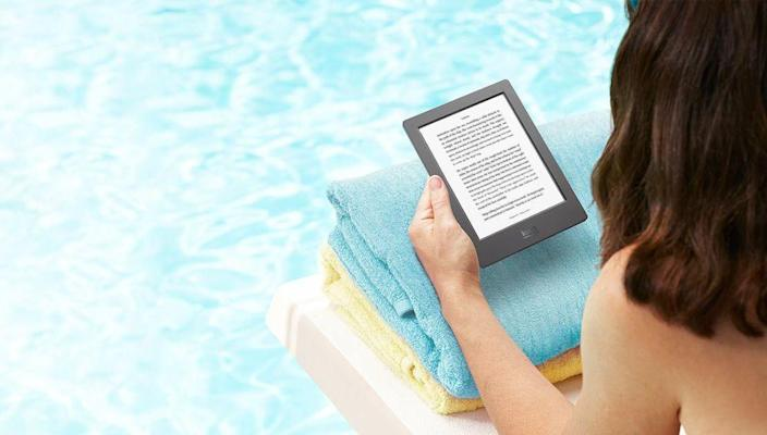 The Kobo Aura H2O is billed as the world's first waterproof ebook reader, making it ideal for people who like to read at the pool or beach.
