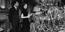 """<p>Two of the five Oscar nominees in 1948 were holiday films: this one, and a certain miracle that happened in midtown Manhattan. Here, Henry Koster directs a tale about an angel with quite the to-do list: help a bishop, build a church, save a marriage. Sounds a lot like a job for <a href=""""https://www.youtube.com/watch?v=96JOle-I7Yc"""" rel=""""nofollow noopener"""" target=""""_blank"""" data-ylk=""""slk:Denzel"""" class=""""link rapid-noclick-resp"""">Denzel</a>.</p><p><em>Stream on amazon.com, $10 to buy.</em> <a class=""""link rapid-noclick-resp"""" href=""""https://www.amazon.com/Bishops-Wife-Henry-Koster/dp/B00AGE20ZI/?tag=syn-yahoo-20&ascsubtag=%5Bartid%7C10056.g.13149732%5Bsrc%7Cyahoo-us"""" rel=""""nofollow noopener"""" target=""""_blank"""" data-ylk=""""slk:WATCH"""">WATCH</a></p>"""