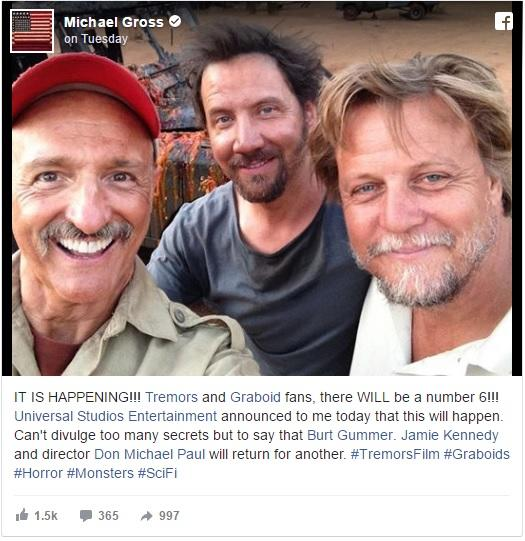 Tremors 6 is happening, because why not?