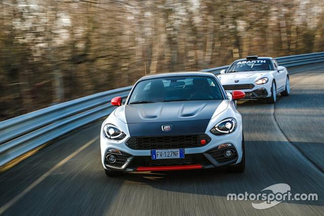 """Abarth 124 rally tribute <span class=""""copyright"""">Abarth </span>"""