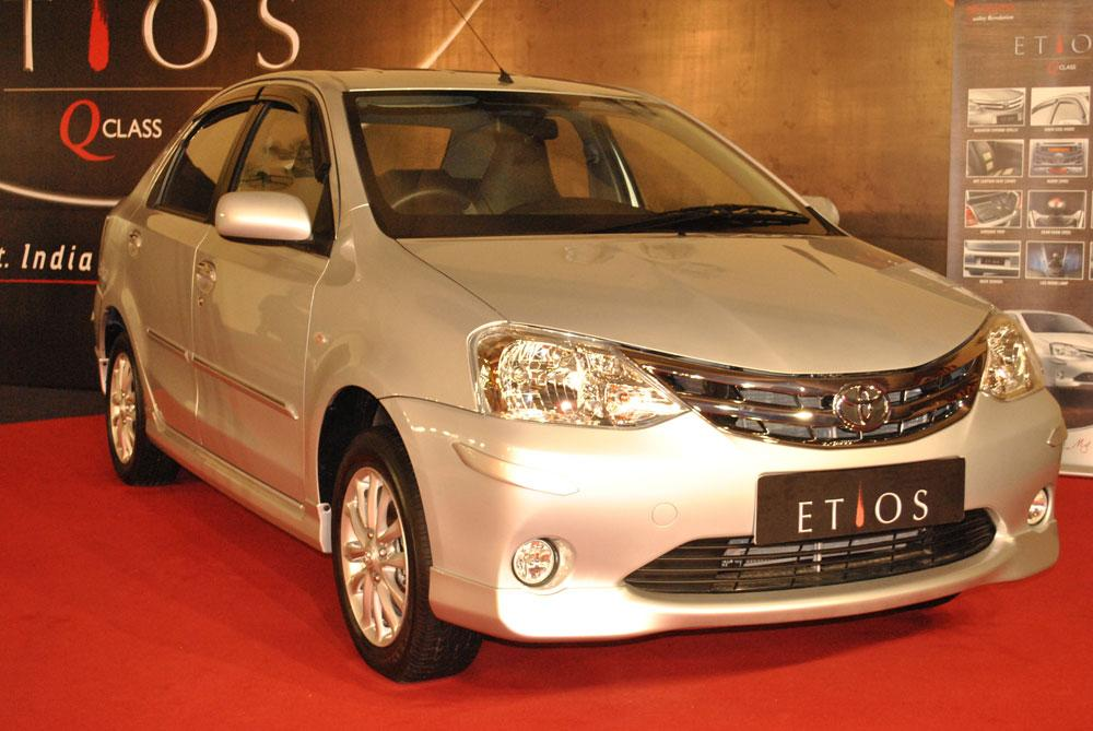 Available in four variants, J, G, V and VX, the Etios is powered by a 1.5L, 16V DOHC engine mated to a 5-Speed manual transmission.