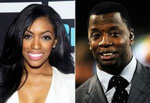 Porsha Stewart, Kordell Stewart | Photo Credits: Charles Sykes/Bravo/NBCU Photo Bank/Getty Images, Sam Greenwood/Getty Images