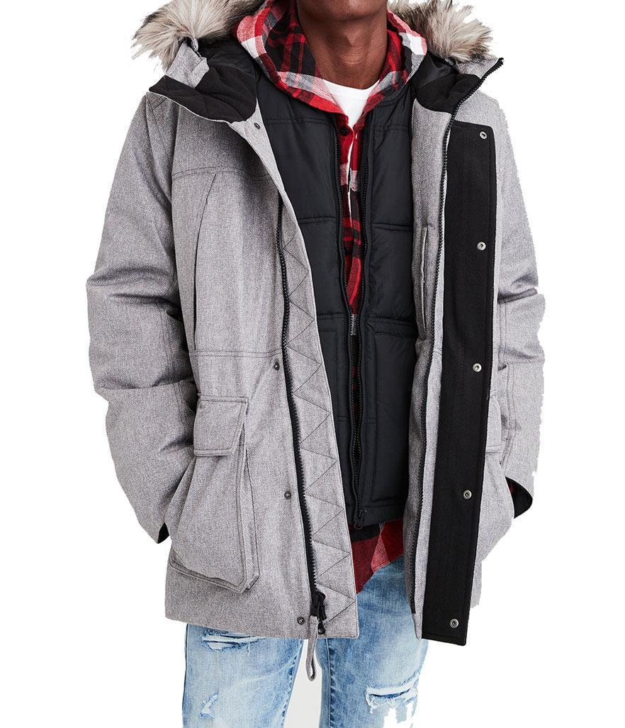 "<p>This puffer coat is functional, without sacrificing style. <br>Shop it: American Eagle Urban Expedition Parka, $200, <a href=""https://fave.co/2OsGWYD"" rel=""nofollow noopener"" target=""_blank"" data-ylk=""slk:ae.com."" class=""link rapid-noclick-resp"">ae.com.</a> </p>"