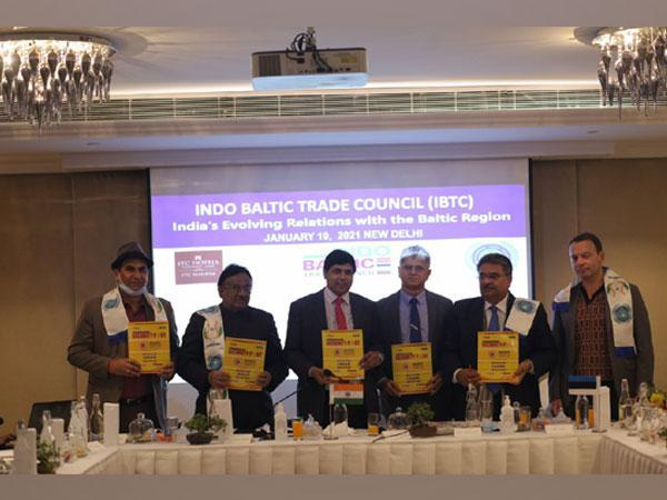 Indo-Baltic Trade Council was inaugurated by the Indian Economic Trade Organization President Dr Asif Iqbal
