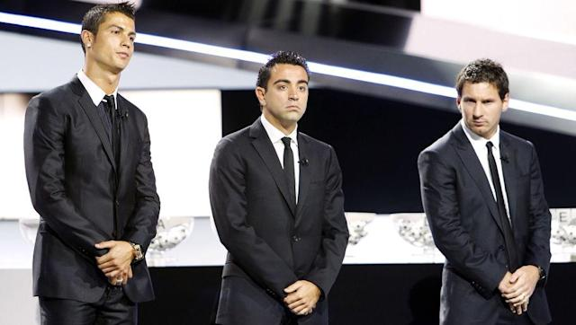 <p>Xavi again finished third one year later, this time behind Messi and Andres Iniesta, making it a trio for Barcelona. He helped his side win La Liga once again, this time with a record 99 points, which included a 2-0 win at the Bernabeu with Xavi recording both assists. </p> <br><p>The Spaniard had been named 'Champions League Midfielder of the Season' the year before, and he was arguably becoming the best midfielder of the decade. </p>