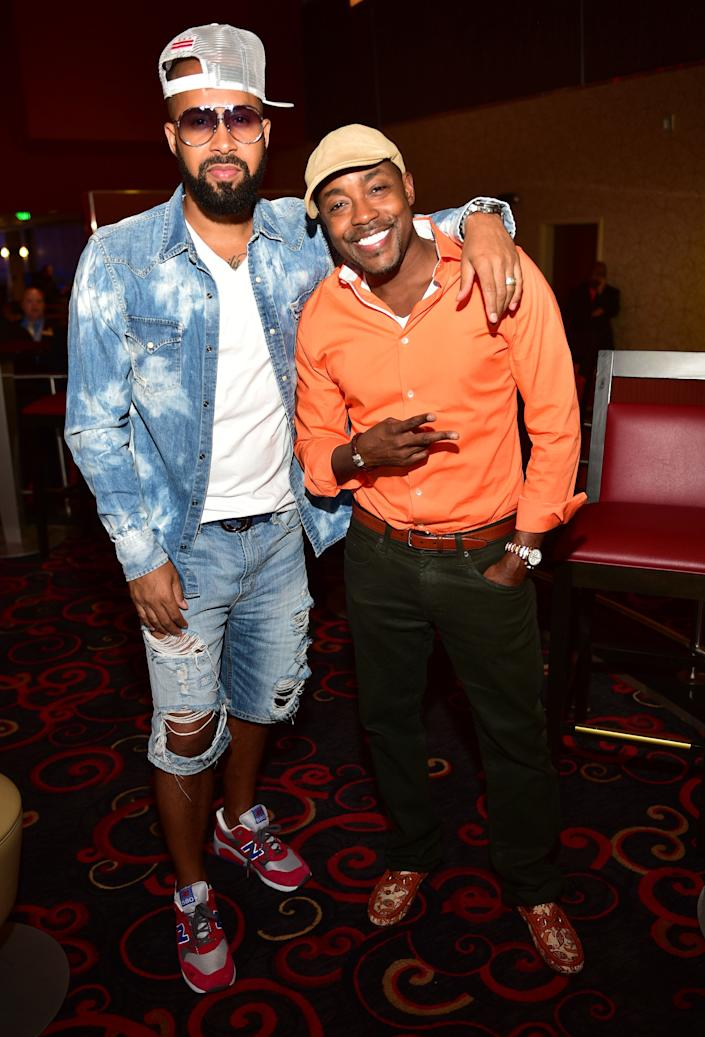 ATLANTA, GA - AUGUST 27: Kenny Burns and Will Packer attend the Atlanta screening of 'No Good Deed' at Strip Atlantic Station on August 27, 2014 in Atlanta, Georgia. (Photo by Prince Williams/FilmMagic)