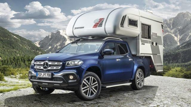 Mercedes-Benz X-Class-inspired camper van introduced