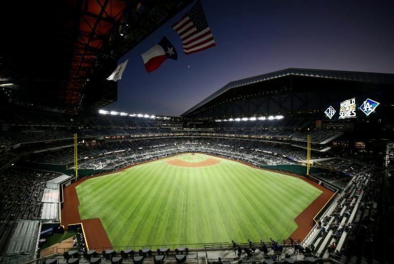 The Texas Rangers say their Globe Life Field stadium will operate at 100% capacity for their baseball season-opener in April 2021