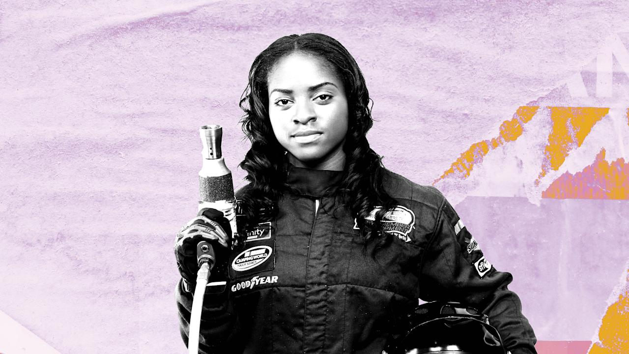 Brehanna Daniels Is the First Black Woman in a NASCAR Pit Crew