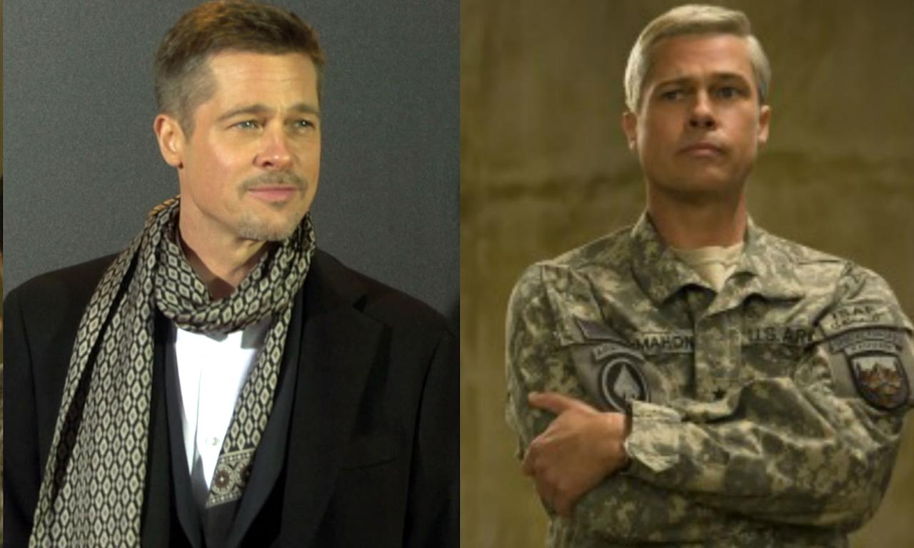 <p>Brad Pitt becomes General Glenn McMahon for <em>War Machine</em>. </p>