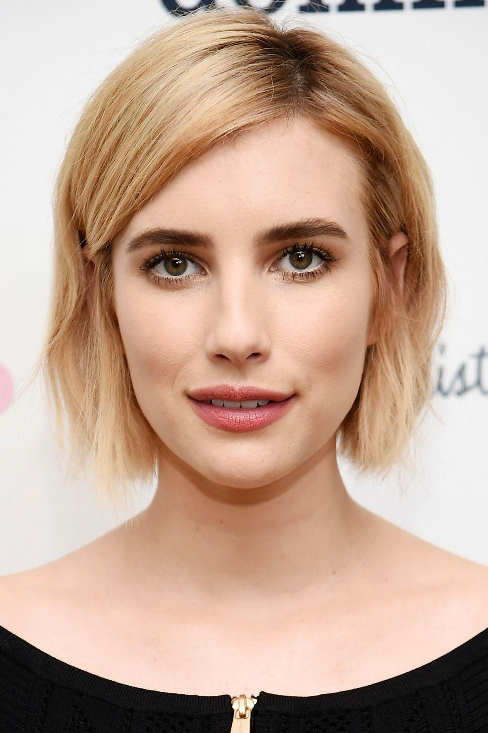 """<p>Emma Roberts has seen a lot of colors atop her head, due in part to the many roles she's played on <em><a href=""""https://www.amazon.com/Coven-Bitchcraft/dp/B00FRASL54/ref=sr_1_6?tag=syn-yahoo-20&ascsubtag=%5Bartid%7C10050.g.4942%5Bsrc%7Cyahoo-us"""" rel=""""nofollow noopener"""" target=""""_blank"""" data-ylk=""""slk:American Horror Story"""" class=""""link rapid-noclick-resp"""">American Horror Story</a></em>.</p>"""