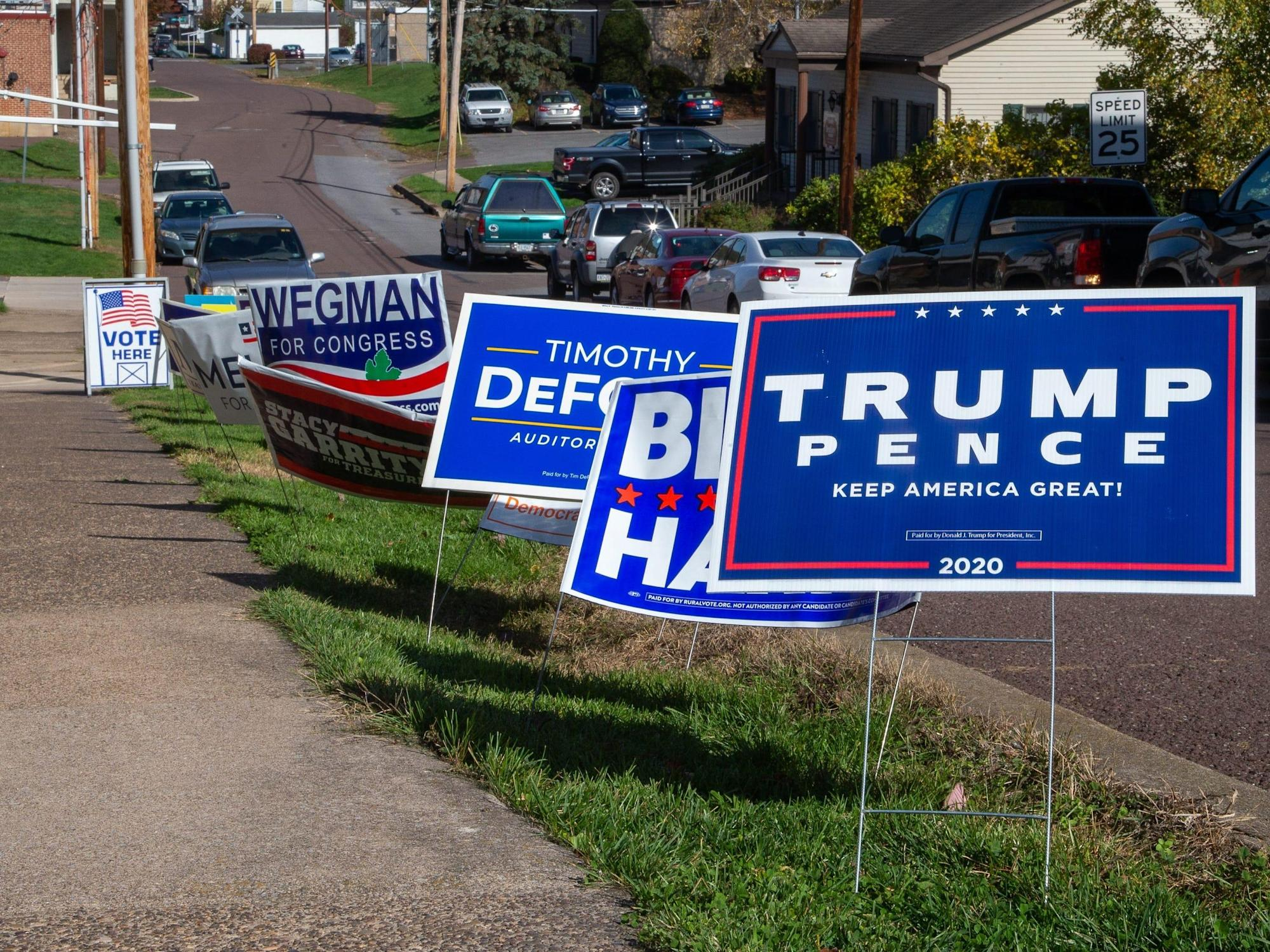 A 73-year-old Texas man was accused of stealing posts from 'hundreds' of political campaign signs for 3 years, police say