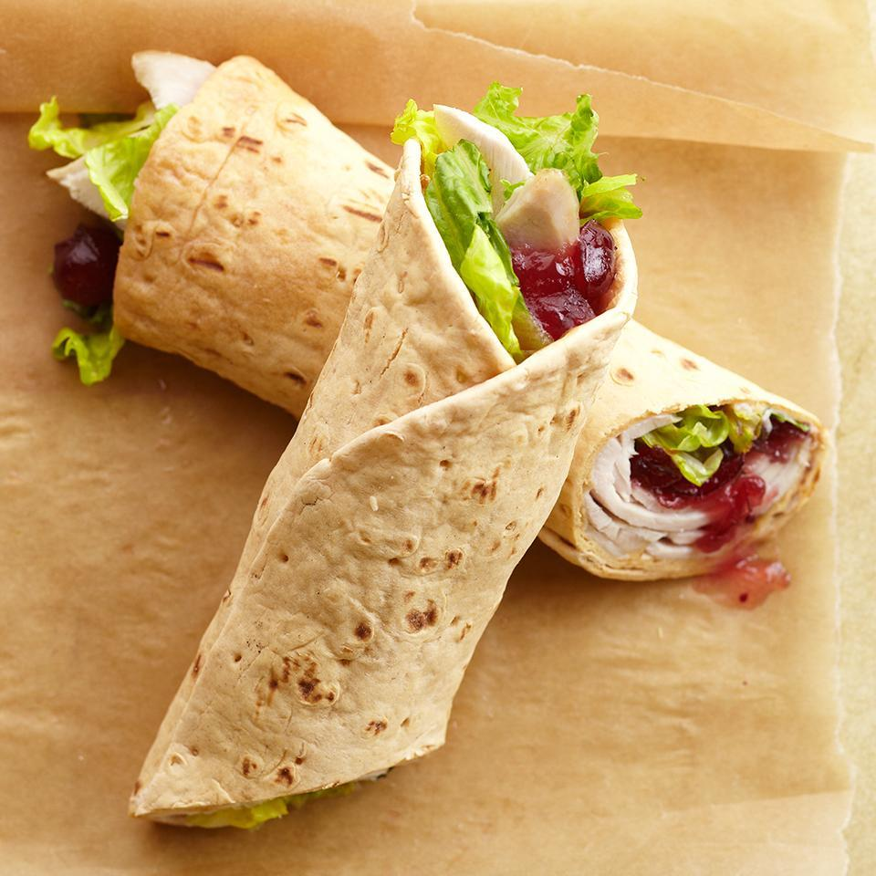 <p>This wrap is quick-and-easy to prepare and is the perfect lunch solution for all of those Thanksgiving leftovers.</p>