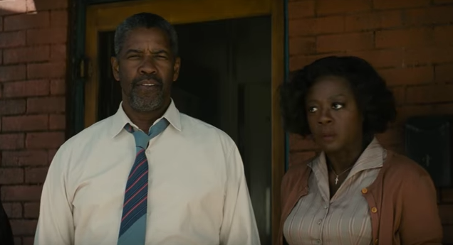 Denzel Washington and Viola Davis in 'Fences' (Paramount)
