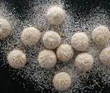 """<p>These lemon confections are tender on the inside and coated with a generous amounts of powdered sugar. Just like the name suggests, as soon as you take a bite they melt deliciously in your mouth. <a href=""""https://www.yahoo.com/food/lemon-melting-moments-127737617460.html"""" data-ylk=""""slk:Get the Lemon Melting Moments recipe;outcm:mb_qualified_link;_E:mb_qualified_link;ct:story;"""" class=""""link rapid-noclick-resp yahoo-link""""><b>Get the Lemon Melting Moments recipe</b></a>. <i>(Photo: Charity Burggraaf)</i></p>"""