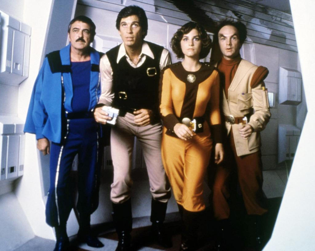 <p>This TV series began airing on CBS just a year after <i>Star Wars</i> opened. Like <i>Star Wars</i>, <i>Jason of Star Command</i> was heavily influenced by classic B-movie serials, but its design was clearly inspired by Lucas' film — it even had an R2-D2-style robot named W.1.K.1. (Photo: Everett)</p>