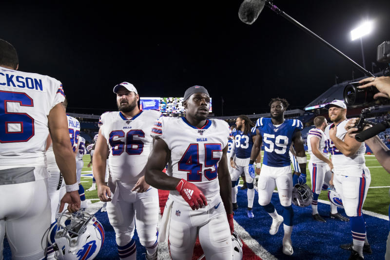 Christian Wade missed out on a place in the Buffalo Bills team Buffalo Bills . (Photo by Brett Carlsen/Getty Images)