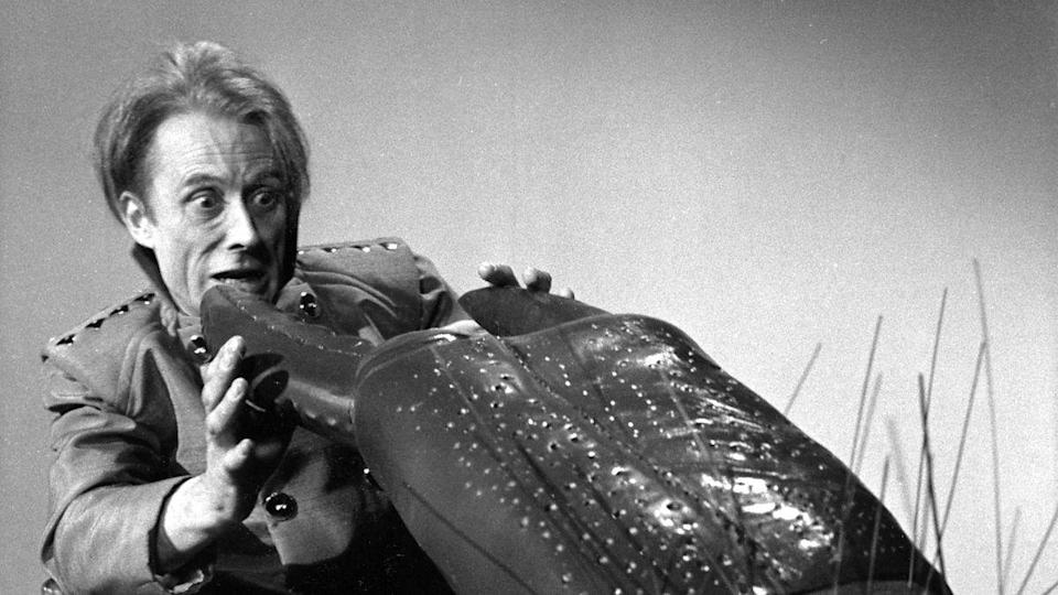 """<p>This tale of giant space crabs couldn't escape the claws of the junkers, but <a href=""""https://www.amazon.co.uk/Doctor-Who-Macra-Terror-Blu-Ray/dp/B07L1DSNC9/"""" rel=""""nofollow noopener"""" target=""""_blank"""" data-ylk=""""slk:an animated reconstruction"""" class=""""link rapid-noclick-resp"""">an animated reconstruction</a> was released in 2019 to DVD and Blu-ray.</p><p>Surviving clips are available to watch on the <em><a href=""""https://www.amazon.co.uk/Doctor-Who-Lost-Time-DVD/dp/B0002XOZW4/"""" rel=""""nofollow noopener"""" target=""""_blank"""" data-ylk=""""slk:Lost in Time"""" class=""""link rapid-noclick-resp"""">Lost in Time</a></em> set, while the complete audio recordings are available on CD and as a download.</p>"""