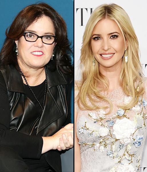 Rosie O'Donnell wrote a poem about her encounter with Ivanka Trump on Thursday, October 6 — read what she wrote