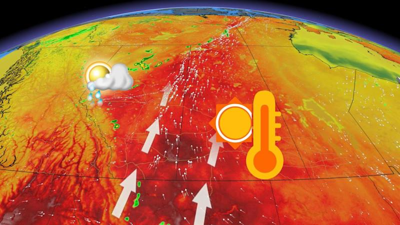 Could be the hottest days of 2020 for the Prairies, storm risks