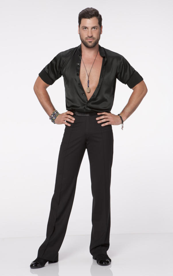 "Maksim Chmerkovskiy partners with Kirstie Alley this fall on ABC's ""Dancing With the Stars: All-Stars,"" premiering September 24."