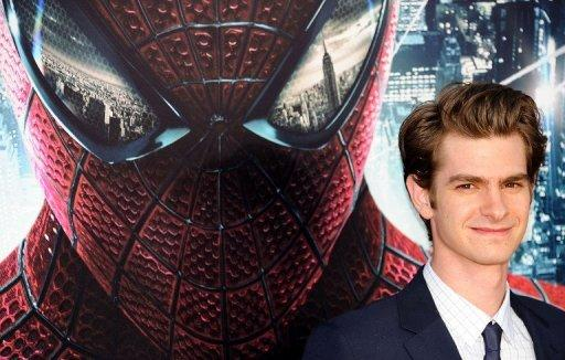 "Actor Andrew Garfield arrives for the premiere of Sony Pictures' ""The Amazing Spider-Man"""
