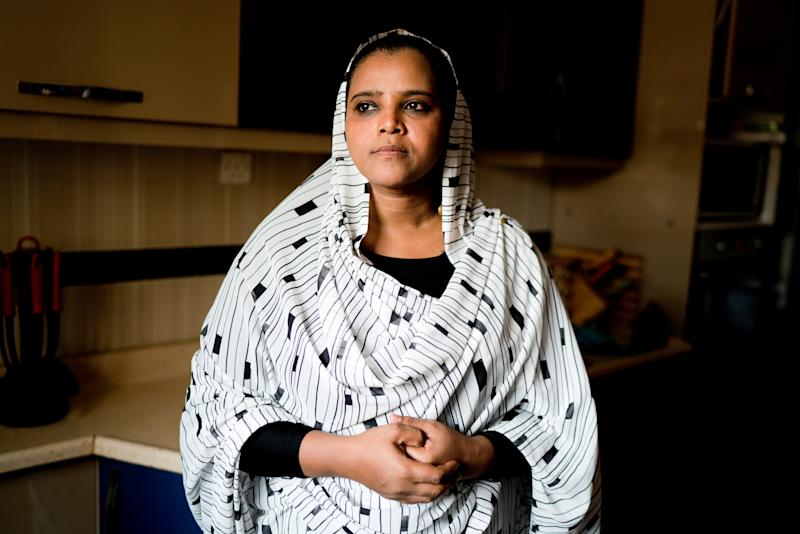 Hadia Hasaballah, 42, a counsellor and political activist, poses for a photograph in Khartoum, Sudan, June 27, 2019. (Photo: Umit Bektas/Reuters)