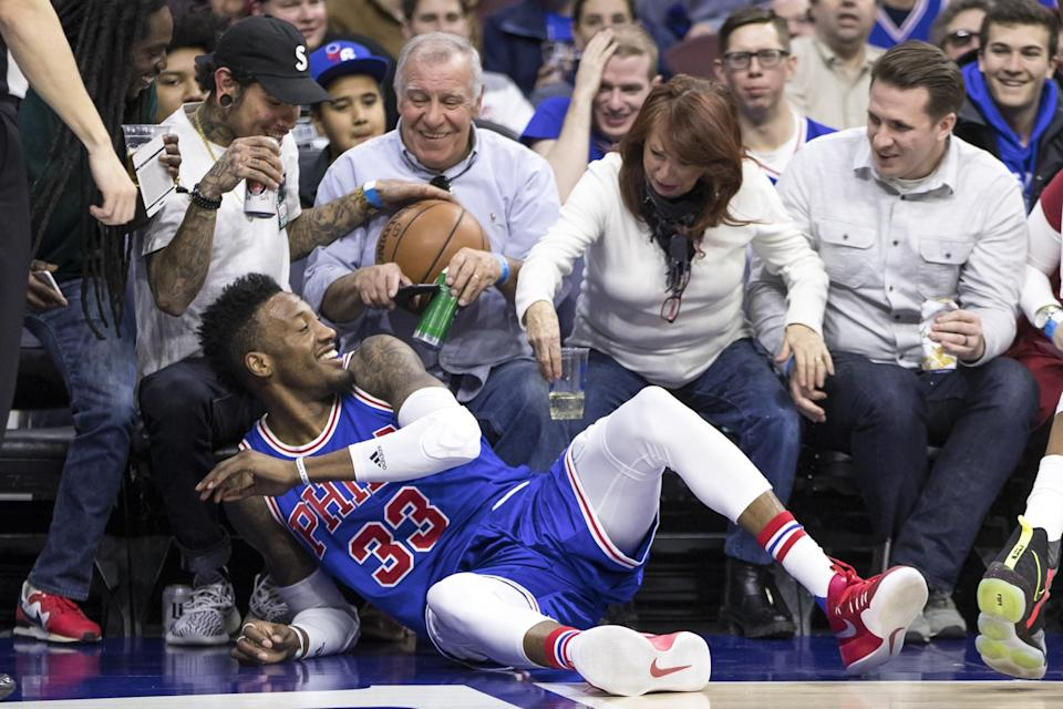 Sixers fans show an appropriate level of respect and appreciation for all Robert Covington brings to the table. (AP)
