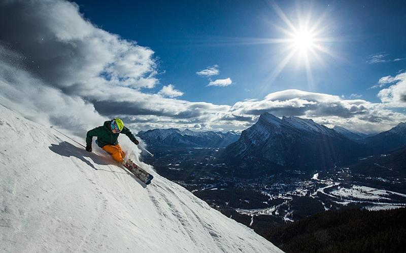 Banff offers three ski areas to explore - ©Paul Zizka Photography