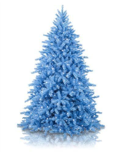 """<p>treetopia.com</p><p><strong>$299.00</strong></p><p><a href=""""https://www.treetopia.com/colored-artificial-christmas-trees-p/blue-christmas-tree.htm"""" rel=""""nofollow noopener"""" target=""""_blank"""" data-ylk=""""slk:Shop Now"""" class=""""link rapid-noclick-resp"""">Shop Now</a></p><p>Having a blue Christmas might not be such a bad thing if it means displaying this cool pre-lit tree. How cool would this look covered in white and silver ornaments?</p><p><em>Height: 5 feet</em></p>"""